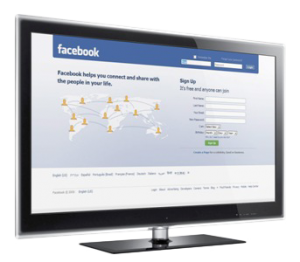 Android TV Facebook