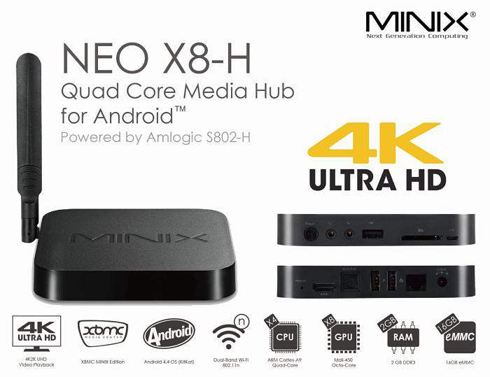 Minix-Neo-X8-H Android TV Box