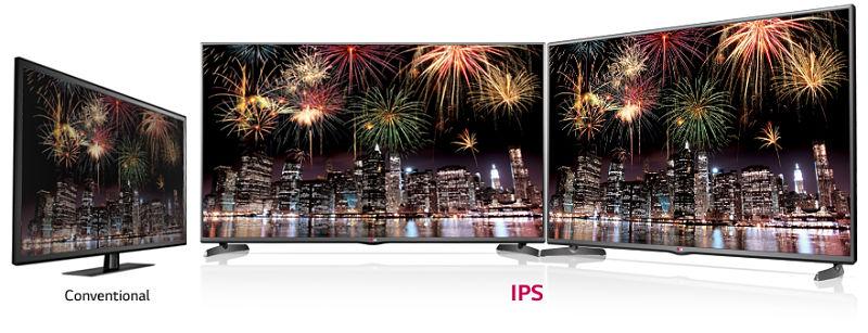 TV LED LG 42LB5610 pulgadas - Angulo de visión