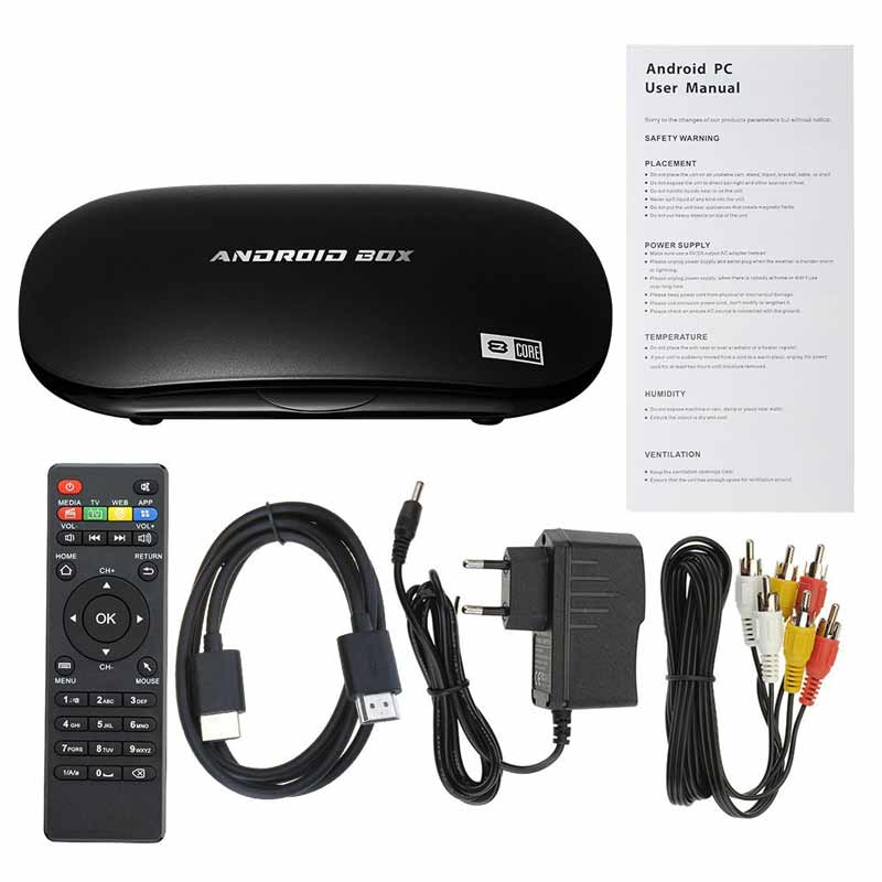 Android tv box Patuoxun lolipop 5.1