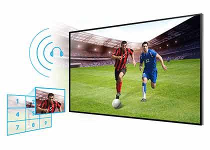 Televisión barata Samsung UE22H5000AW LED de 22 pulgadas de menos de 200 euros futbol