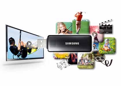 Televisión barata Samsung UE22H5000AW LED de 22 pulgadas de menos de 200 euros usb