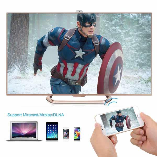 Android tv barato Victsing 64 bits octa core lollipop conectividad
